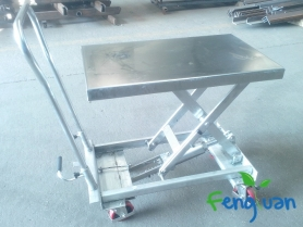 Stainless Lifting Table